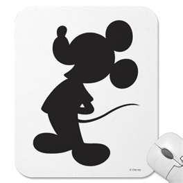 Mickey Mouse shadow