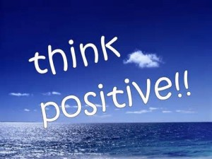 Thnk positive