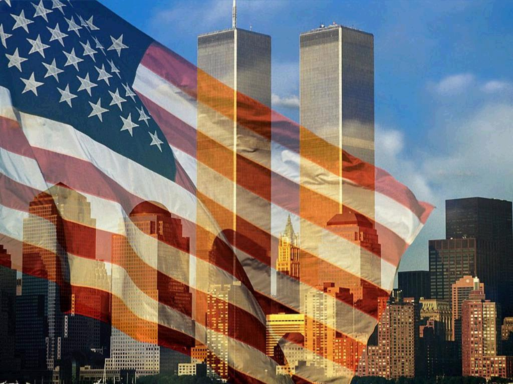 911-flag-and-buildings